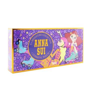 Miniature Coffret: Fantasia EDT 5ml + Fantasia Mermaid EDT 5ml + Sceret Wish EDT 5ml + 2x Sky EDT 5ml + Pouch  5pcs+Pouch