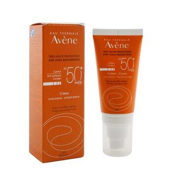 Very High Protection Comfort Cream SPF 50 - For Dry Sensitive Skin (Fragrance Free)  50ml/1.7oz