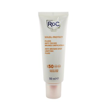 Soleil-Protect Anti-Brown Spot Unifying Fluid SPF 50 UVA & UVB (Visibly reduces Brown Spots)  50ml/1.69oz