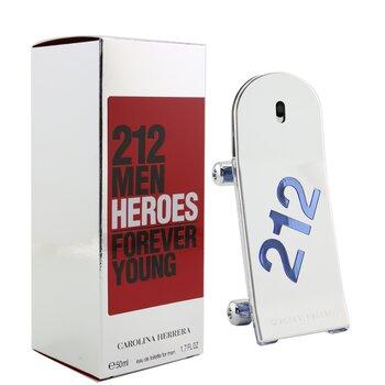 212 Heroes Forever Young Eau De Toilette Spray  50ml/1.7oz