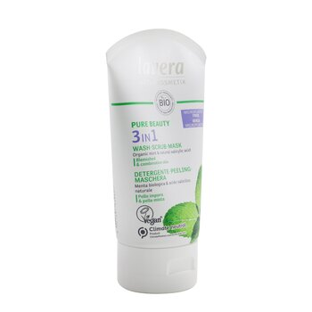 Pure Beauty 3 In 1 Wash, Scrub, Mask - For Blemished & Combination Skin  125ml/4oz