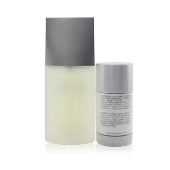 L'Eau D'Issey Pour Homme Coffret: Eau De Toilette Spray 75ml/2.5oz + Deodorant Stick 75g/2.6oz  2pcs