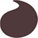 color swatches TheBalm Mr. Write Long Lasting Eyeliner Pencil - # Romance (Prune)