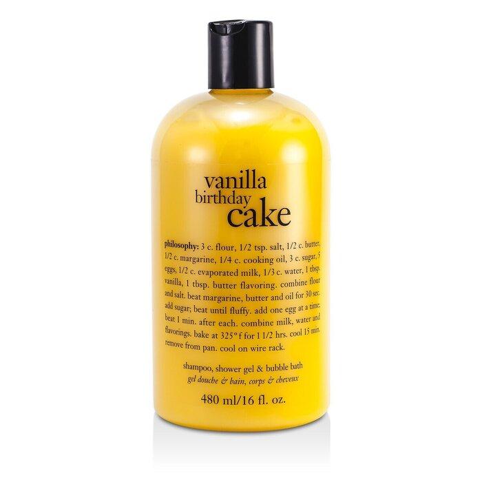 Cool Philosophy Vanilla Birthday Cake Shampoo Shower Gel Bubble Funny Birthday Cards Online Ioscodamsfinfo