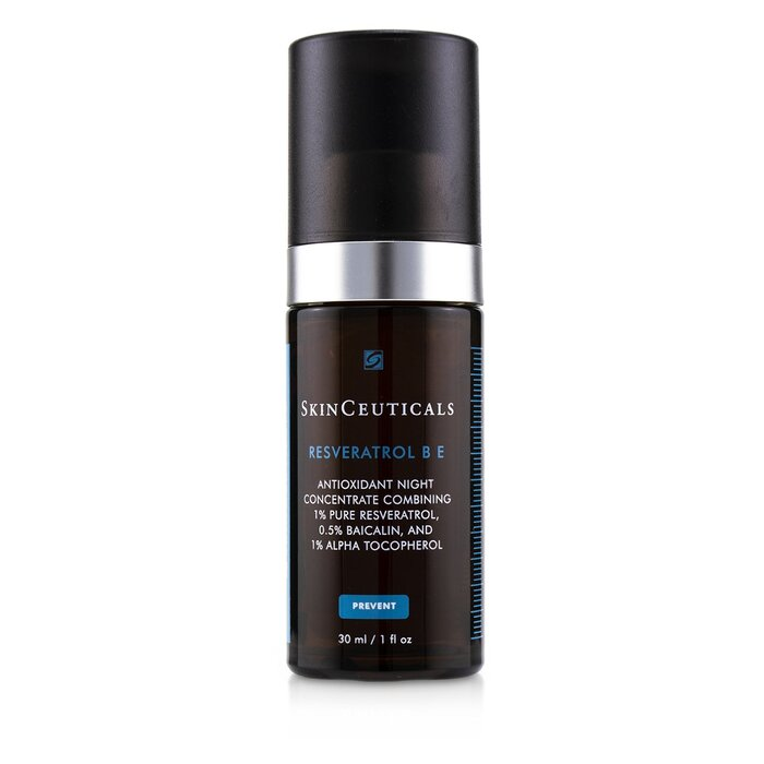 Skin Ceuticals Resveratrol B E Antioxidant Night Concentrate 30ml 1oz Serum Concentrates Free Worldwide