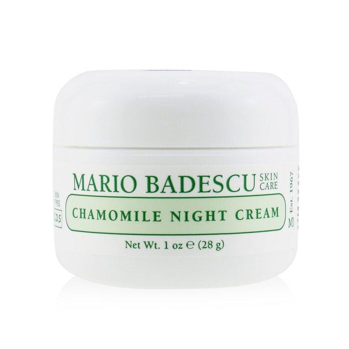 Mario Badescu Chamomile Night Cream For Combination Dry Sensitive Skin Types 29ml 1oz