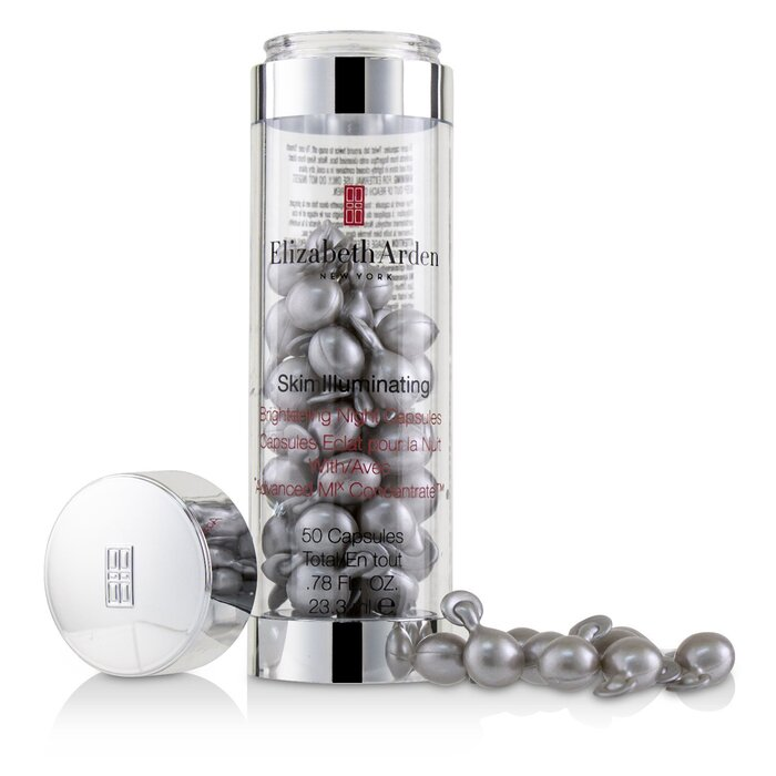 Elizabeth Arden - Skin Illuminating Brightening Night Capsules With Advanced MI Concentrate 50caps - Serum & Concentrates | Free Worldwide Shipping | Strawberrynet SI