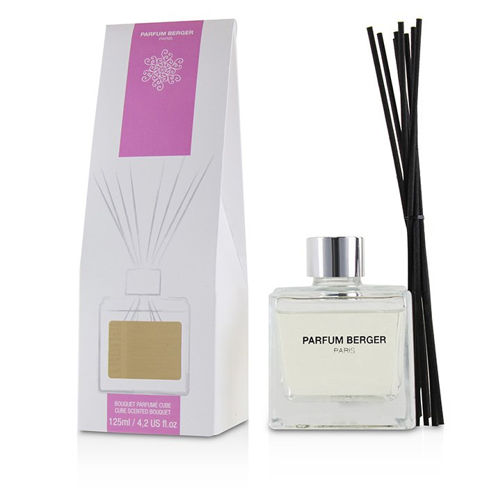 Lampe Berger Cube Scented Bouquet Amber Powder 125ml4.2